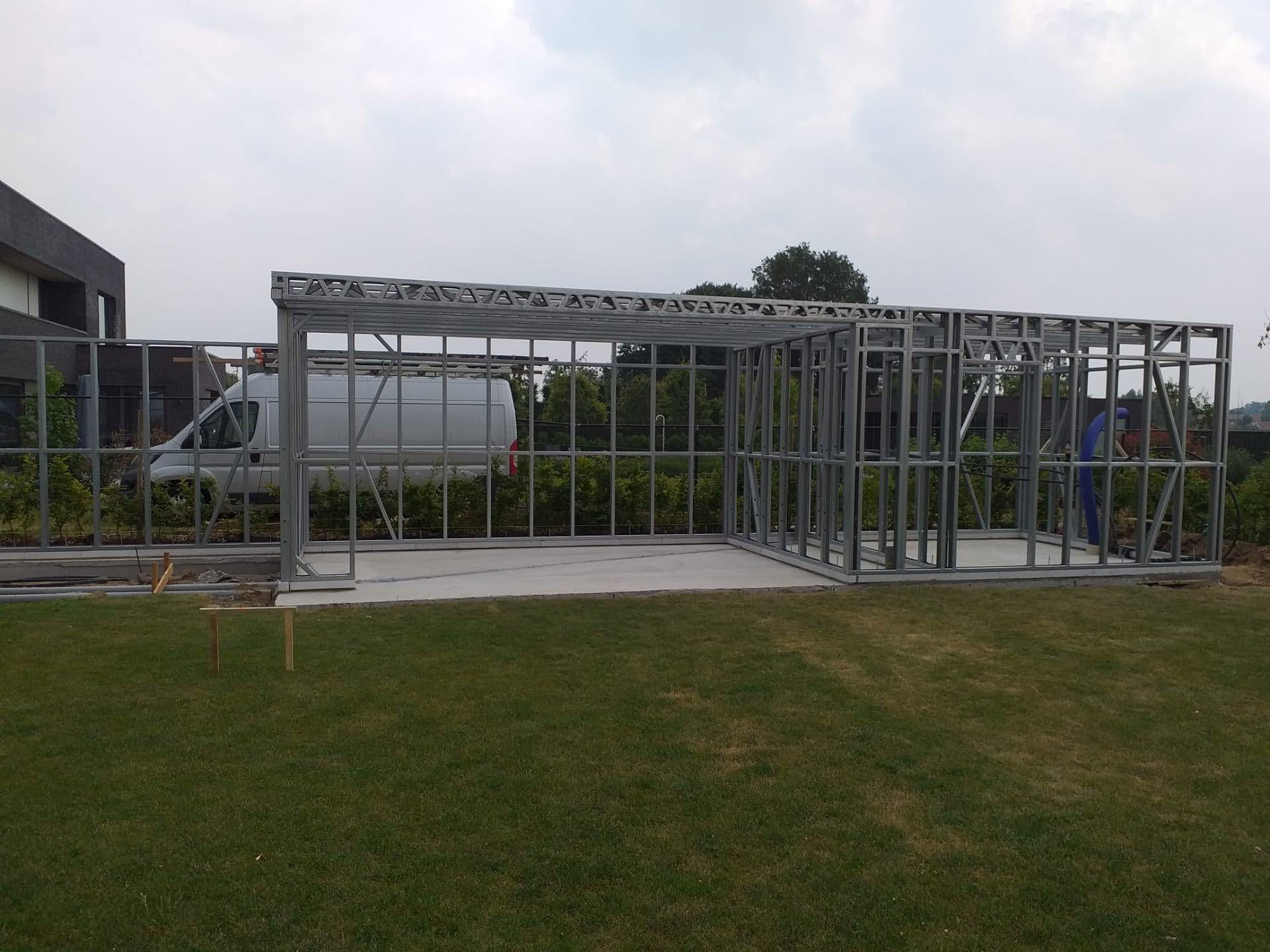 Poolhouse - Bissegem - Quicksteel - Renova 5