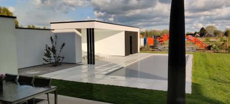 Poolhouse - Bissegem - Quicksteel - Renova 8