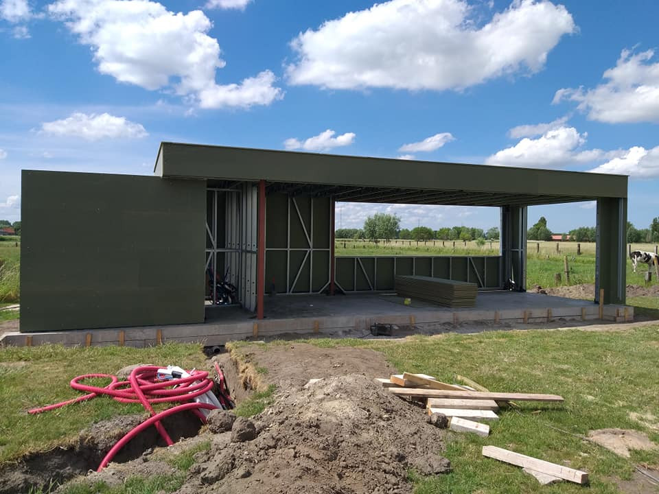 A4 Poolhouse Quicksteel Brugge