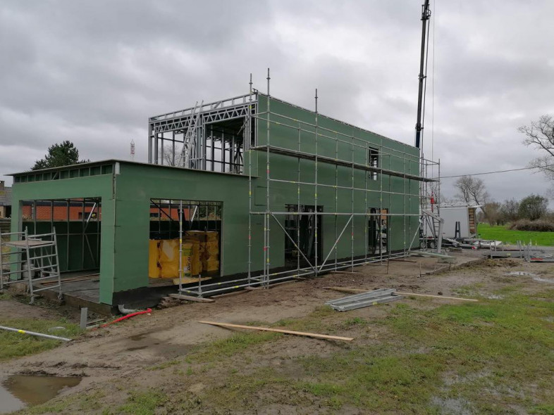 B4 Nieuwbouw Quicksteel Roksem