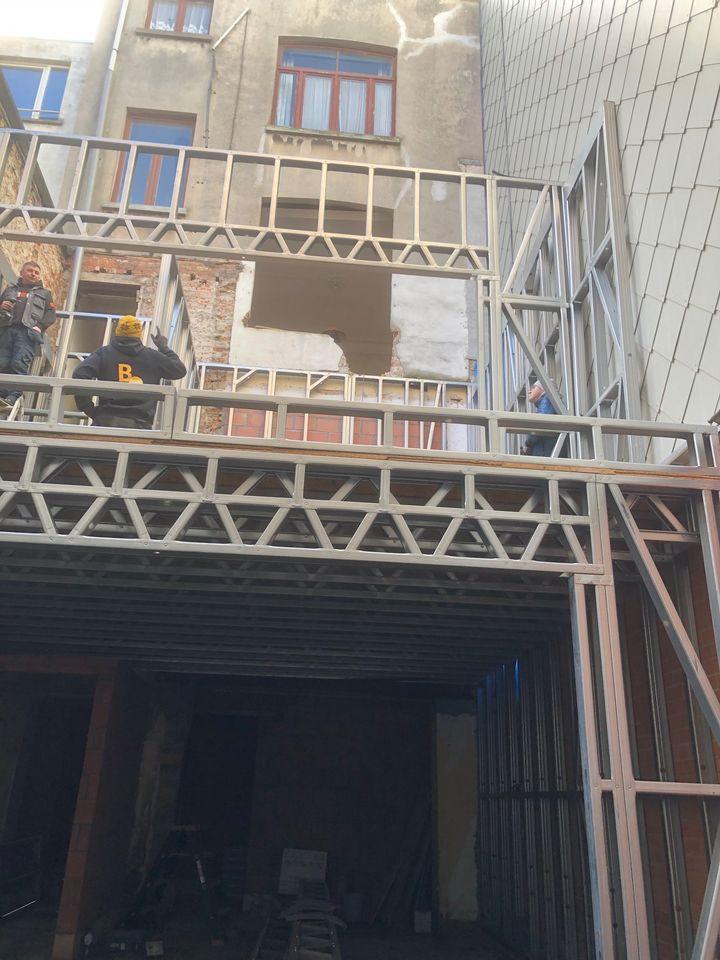 A4 Aanbouw Quicksteel Blankenberge