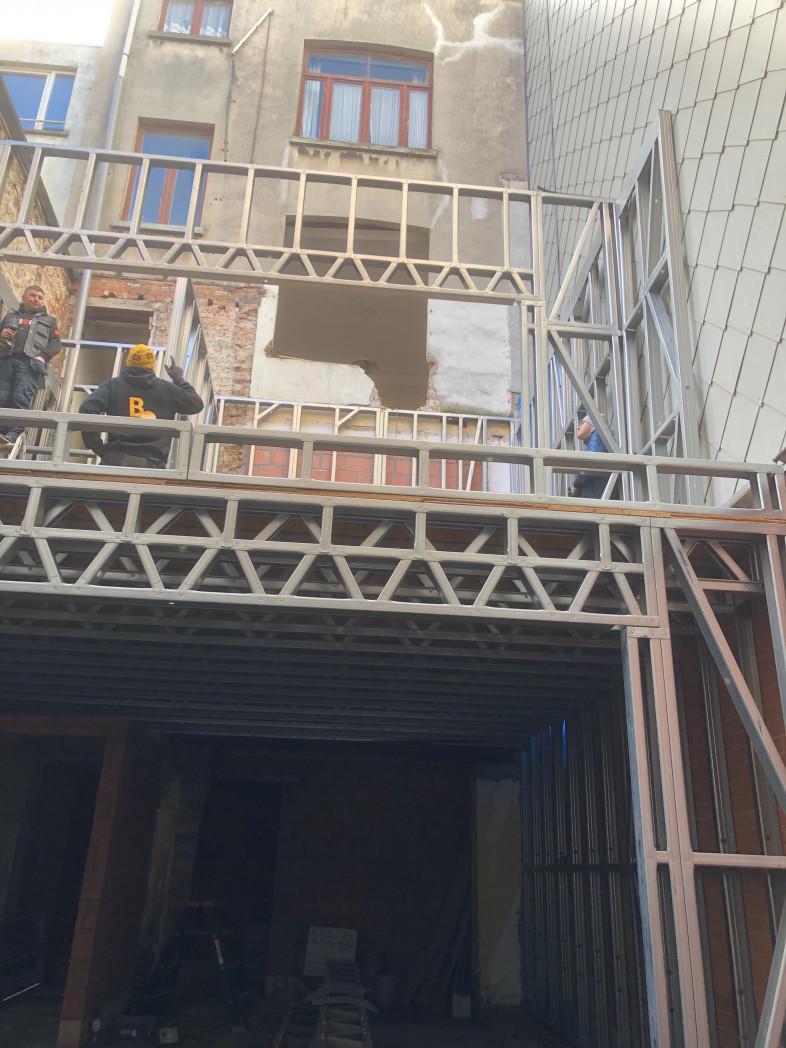 A6 Aanbouw Quicksteel Blankenberge