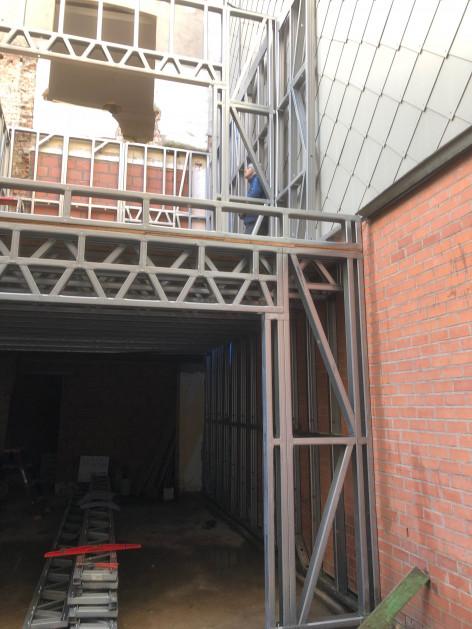 A7 Aanbouw Quicksteel Blankenberge