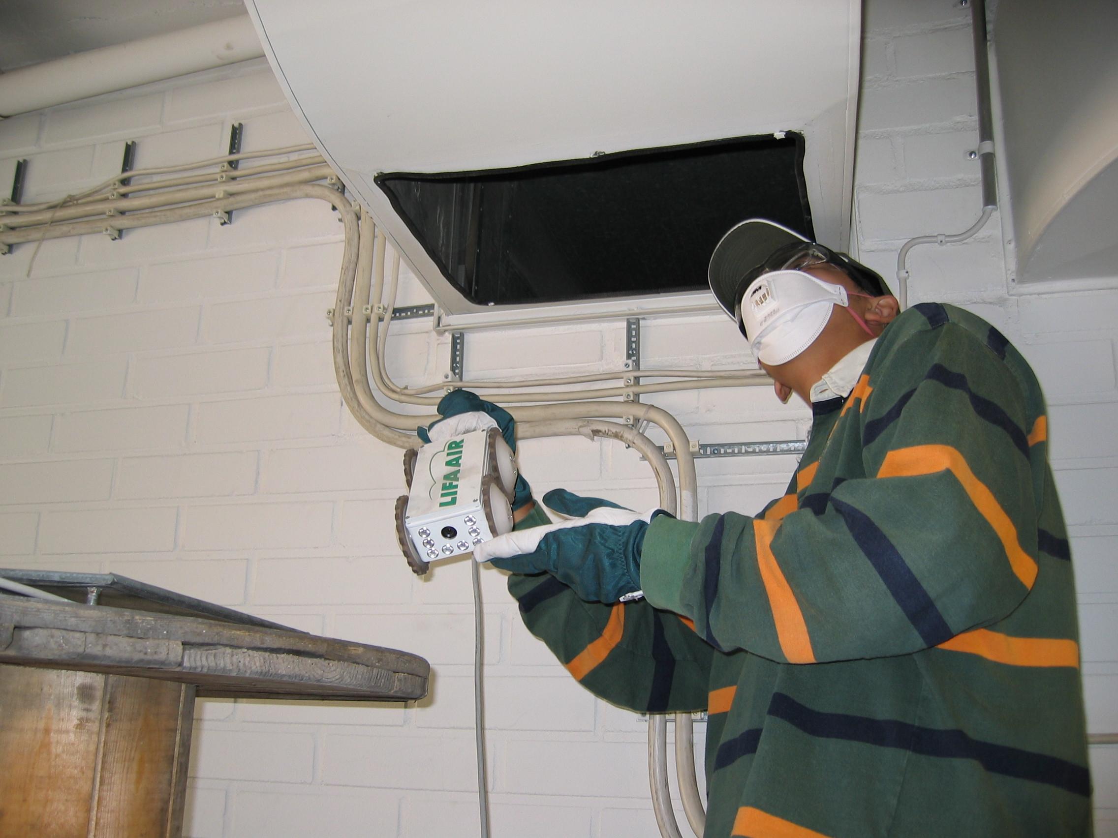 inspection camera robot