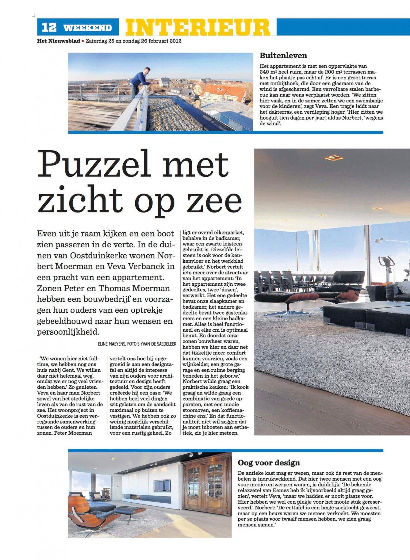 Het nieuwblad - interieur 1