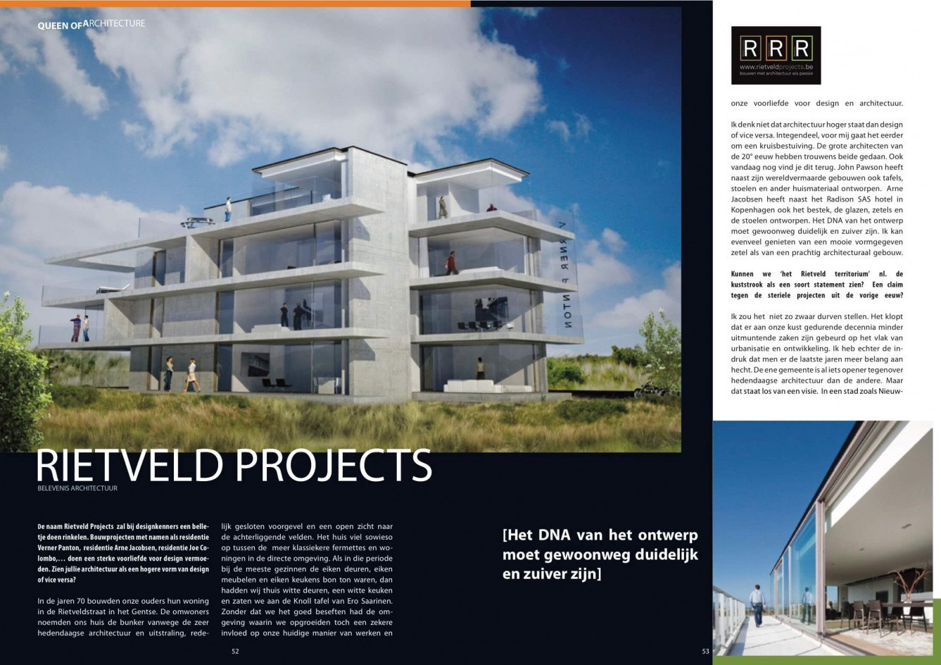 Magazine Queen of Flowers - Rietveldprojects, Queen of Architecture 1