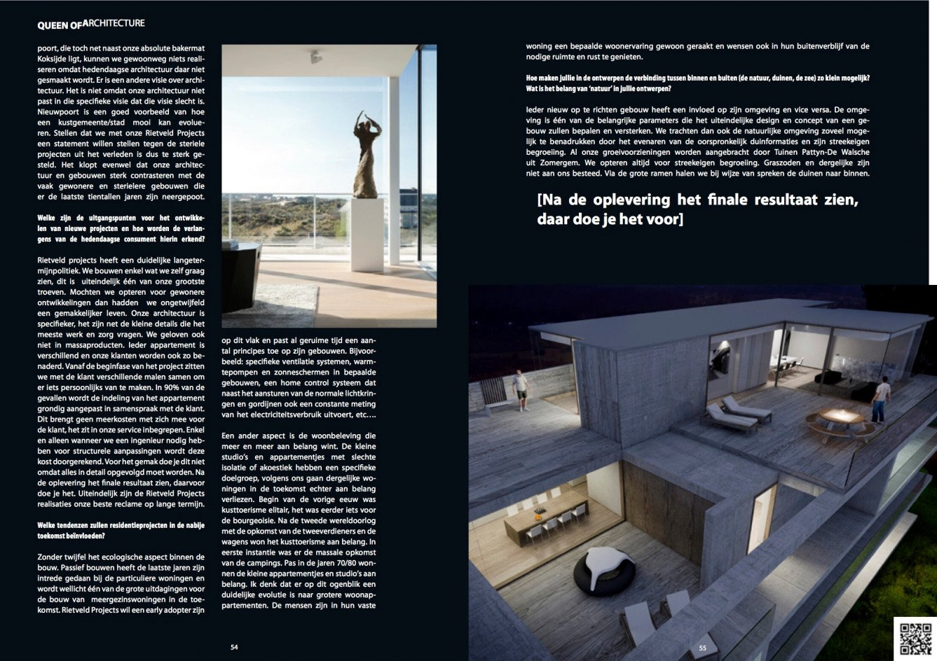 Magazine Queen of Flowers - Rietveldprojects, Queen of Architecture 2
