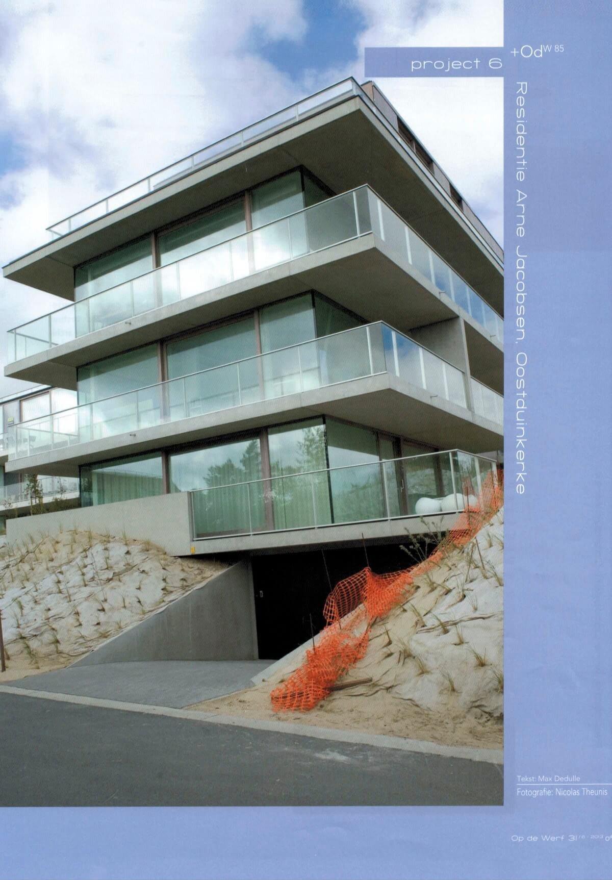 Op de Werf Juni 2013 - Residentie Arne Jacobsen 1