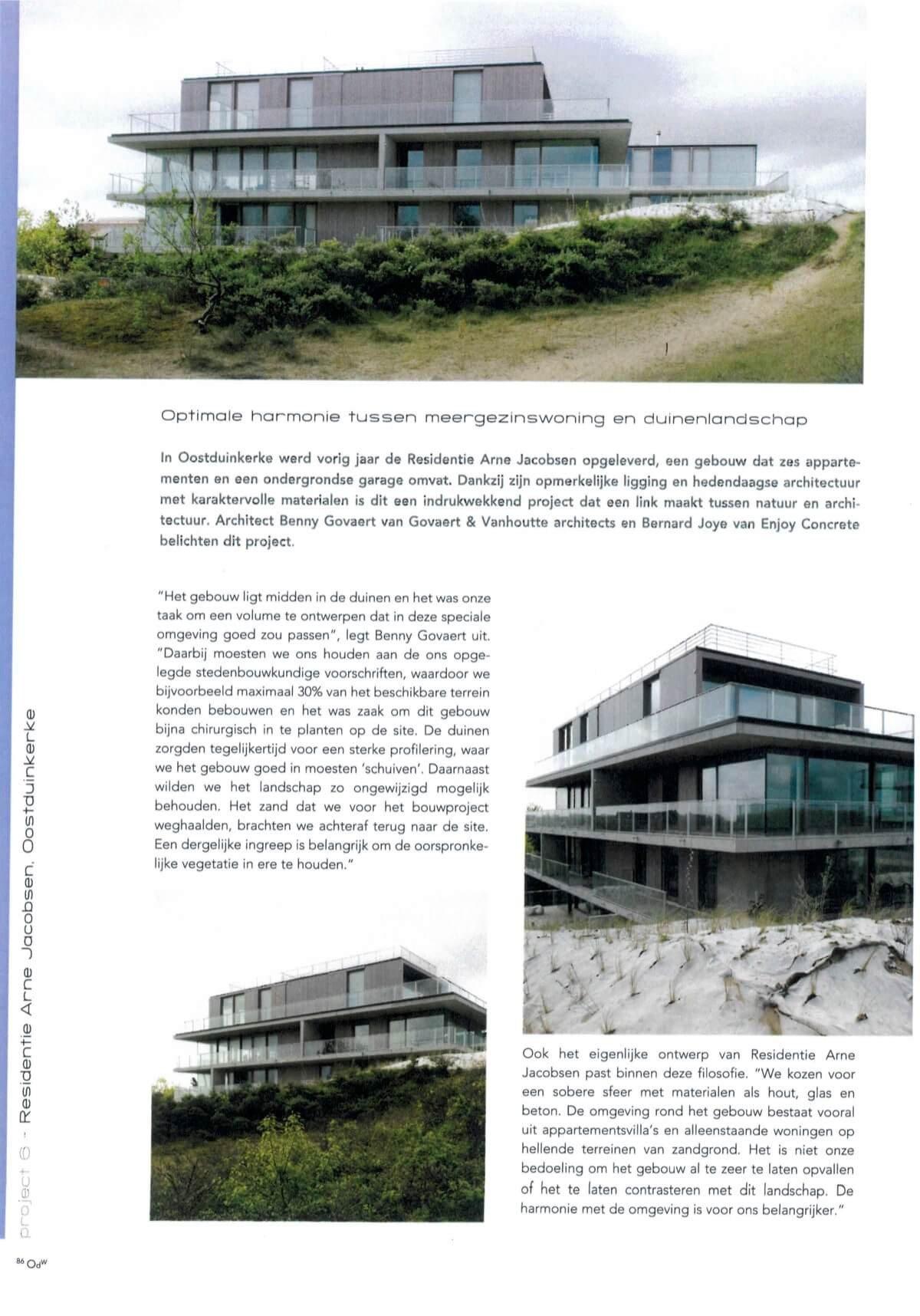 Op de Werf Juni 2013 - Residentie Arne Jacobsen 2