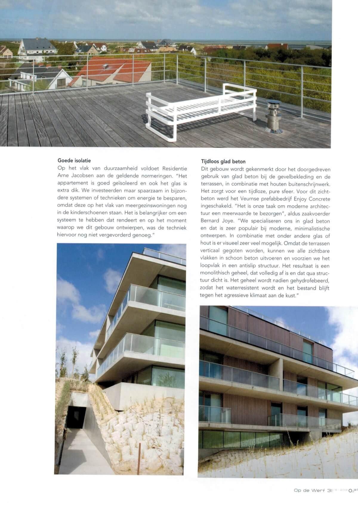 Op de Werf Juni 2013 - Residentie Arne Jacobsen 3