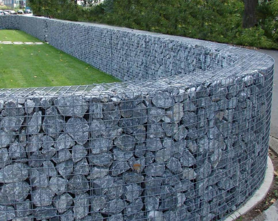 landscape gabions by sonomuro