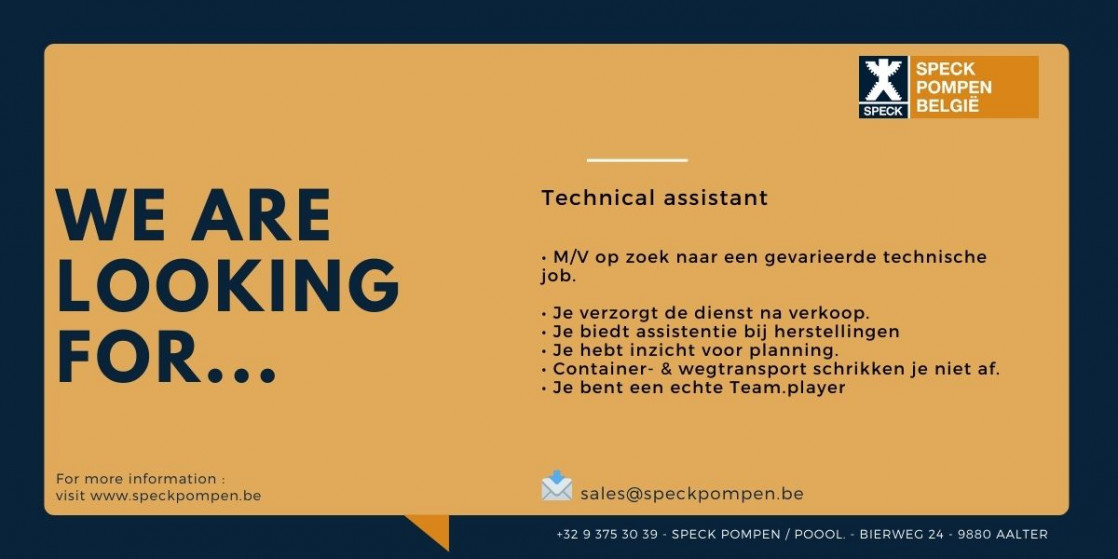 Technical assistant facebook