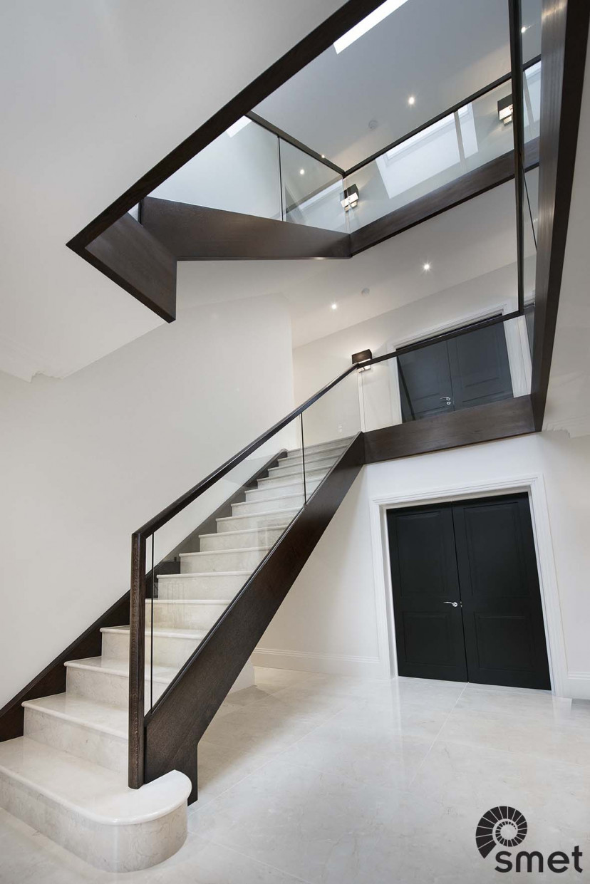Marble Clad - Glass Balustrade - Kingswood - E (1)