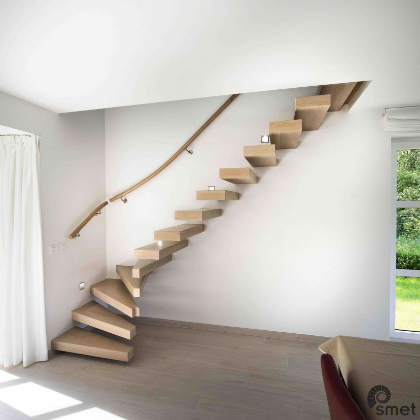 Wooden Stairs - Brussels - B (1)