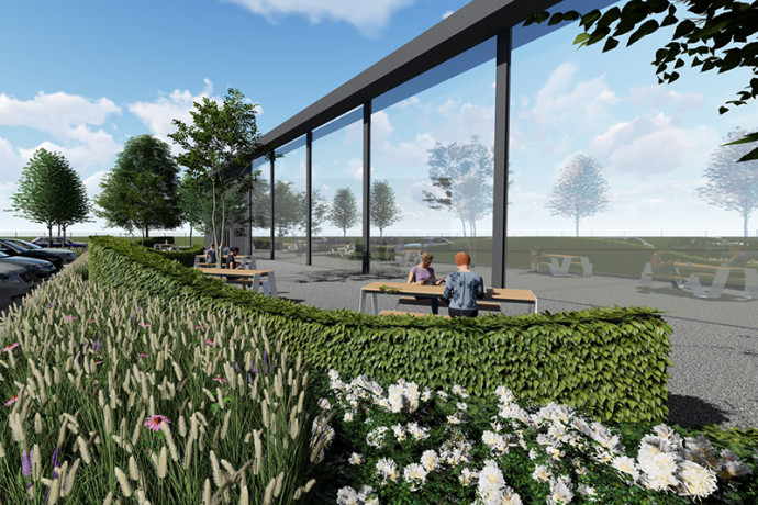 Bedrijfstuinen | Tuinen Vanallemeersch-Deraedt