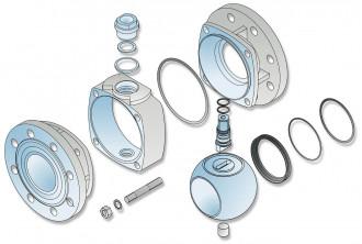 Isometrie-Metallisch-O-Ring-angefedert