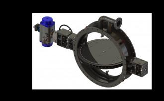 Image sealing air damper valves isometric