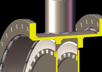 Image sealing air damper valves closed detail