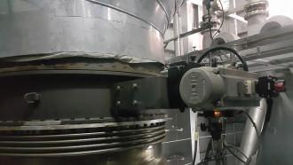 Image sealing air damper valves with actuator