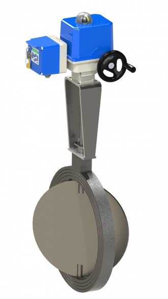 Image butterfly valves electrical