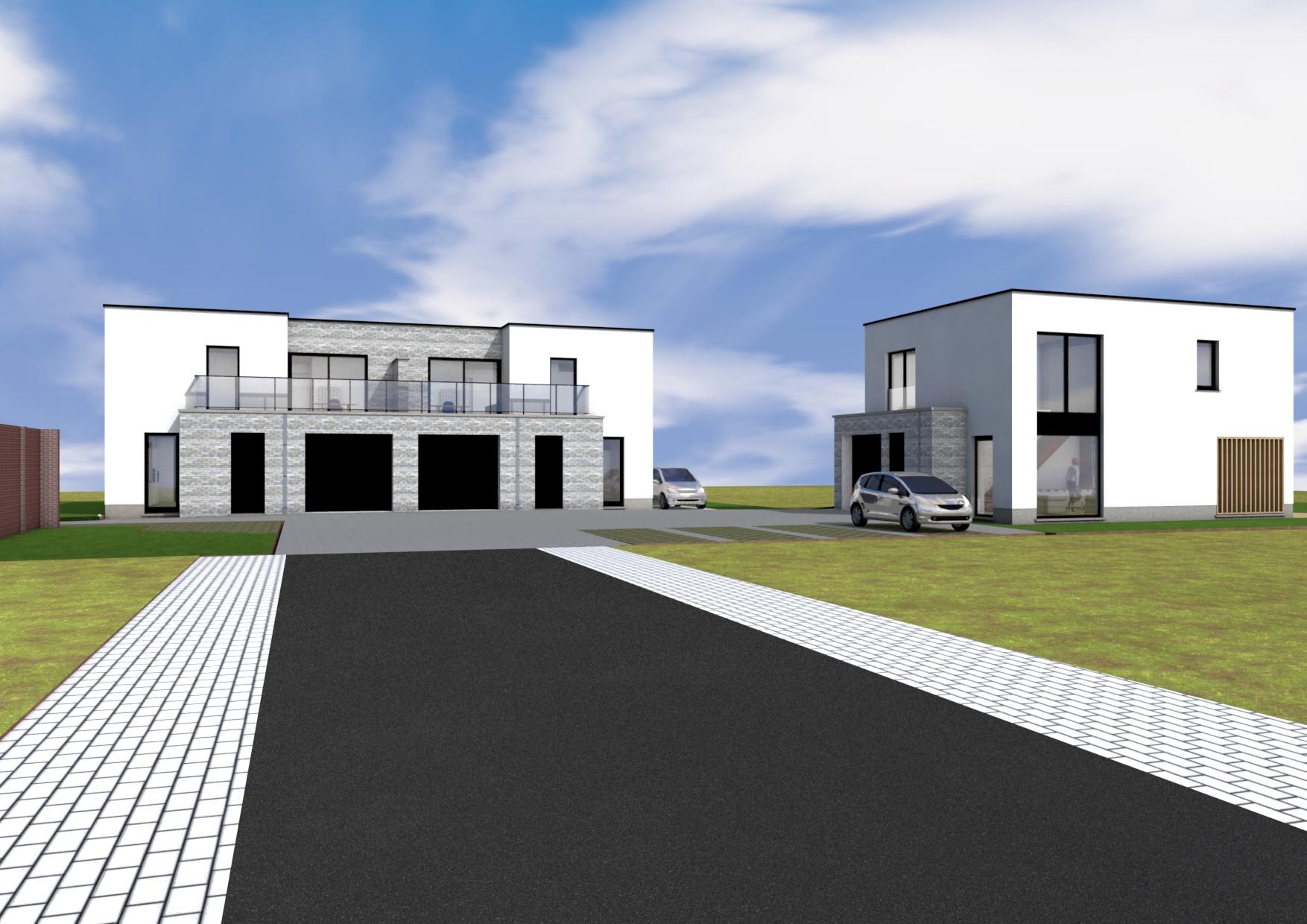 Terryconstruct - 3 woningen te Beernem - Beernem