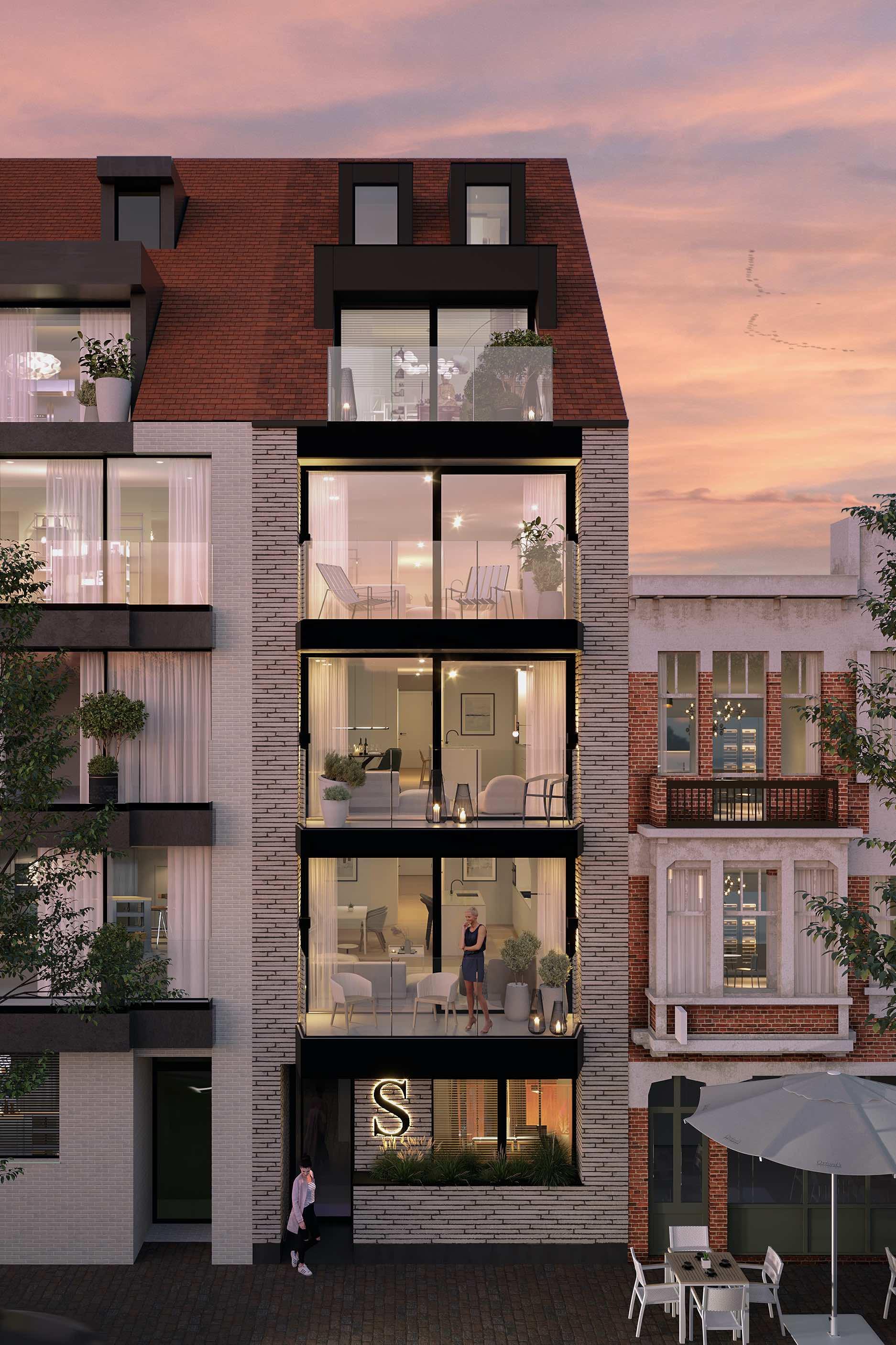 C-development appartementen te Knokke - Knokke