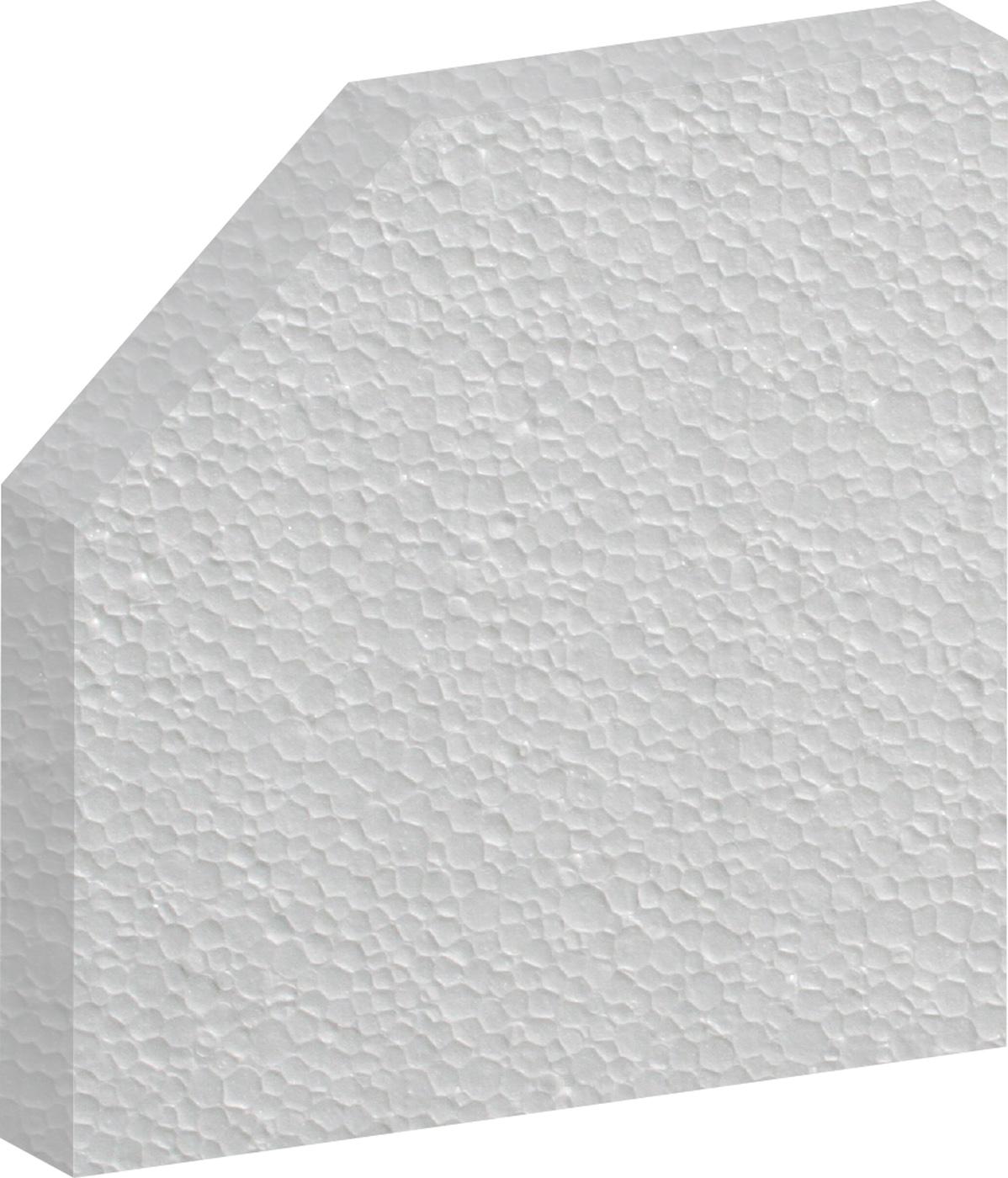 Witte polystyreen isolatie