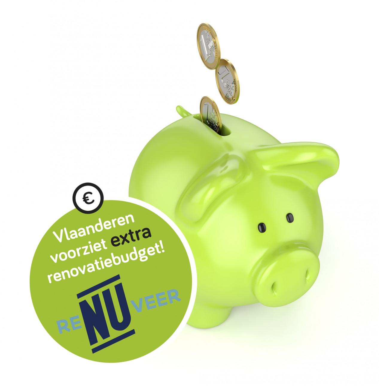 Aan de slimme verbouwers: Vlaanderen voorziet extra renovatiebudget! Renuveren2_rgb_300dpi