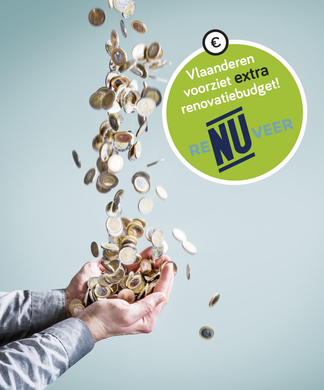 Aan de slimme verbouwers: Vlaanderen voorziet extra renovatiebudget! Renuveren_rgb_300dpi
