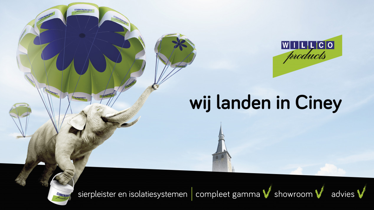 "Willco Products ""landt"" in Ciney met een derde vestiging Wij landen in Ciney.jpg"