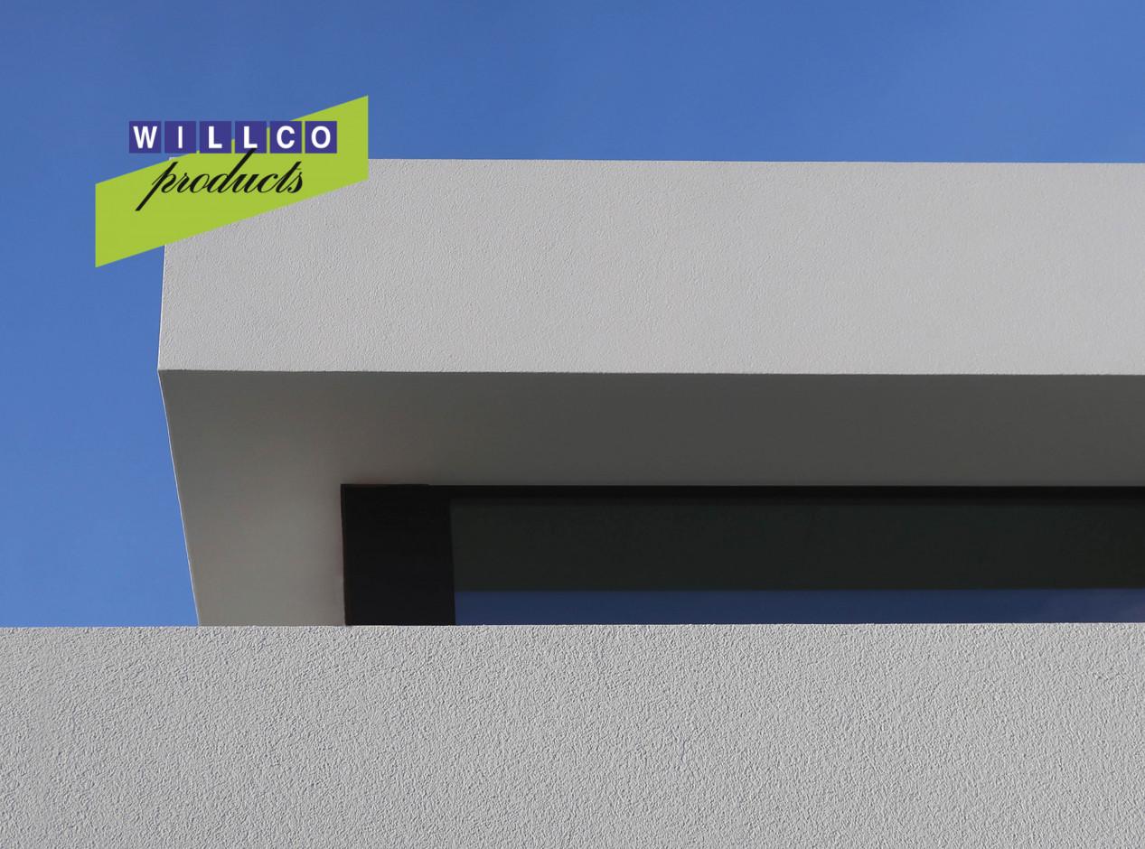 Gevel in crepi? Werk je dakrand af met een onzichtbaar profiel! Willco_202105Blog_2
