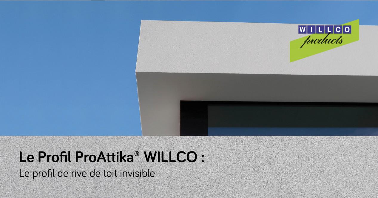 Découvrez le Profil ProAttika® WILLCO : le profil de rive de toit invisible Willco_Attika_02_FB_FR